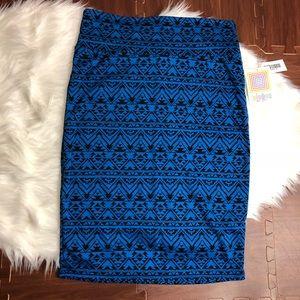 LuLaRoe Aztec Print Cassie Pencil Skirt